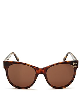 Stella McCartney - Women's Embellished Star Cat Eye Sunglasses, 61mm