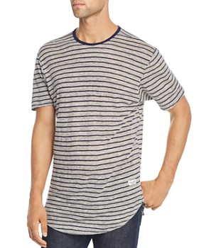 Kinetix - Heathered-Stripe Tee