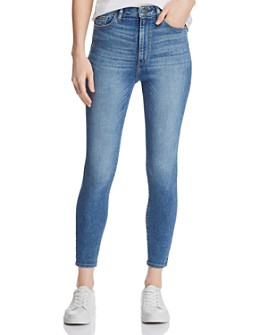 DL1961 - Chrissy Ultra High-Rise Skinny Jeans in Weymouth