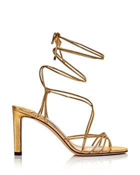 Jimmy Choo - Women's Tao 85 Ankle-Tie High-Heel Sandals