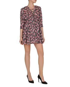 The Kooples - Tie-Front Mini Dress