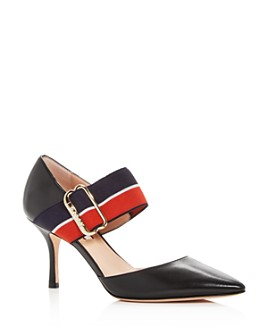 Bally - Bette Pointed-Toe Mary-Jane Pumps