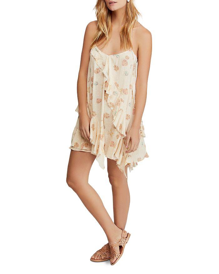 Free People - Sunlit Seashell Print Mini Dress