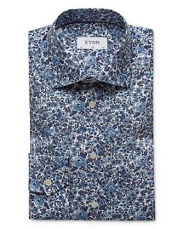 Eton - Floral Slim Fit Dress Shirt