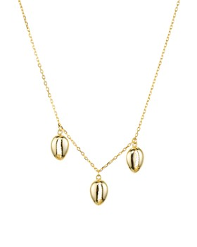 Argento Vivo - Seychelle Dangle Necklace in 18K Gold-Plated Sterling Silver, 16""