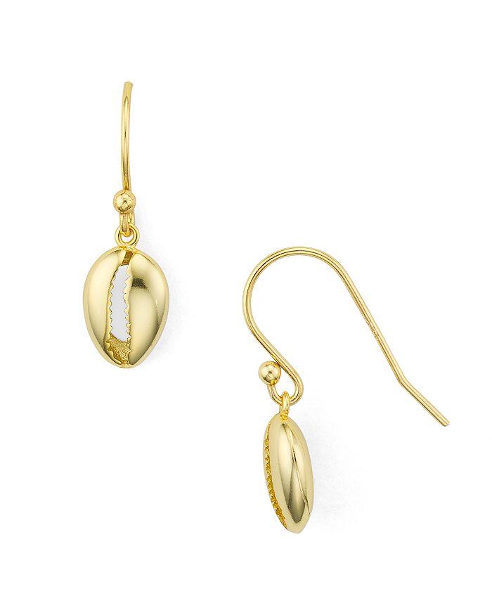 Argento Vivo - Seychelle Drop Earrings in 18K Gold-Plated Sterling Silver