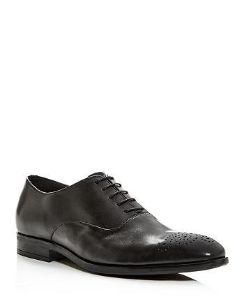 Paul Smith - Men's Brogue-Toe Leather Oxfords