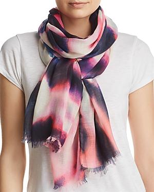 Aqua Tie-Dye Scarf - 100% Exclusive