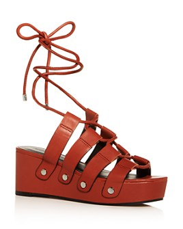 Rebecca Minkoff - Women's Iven Platform Wedge Sandals