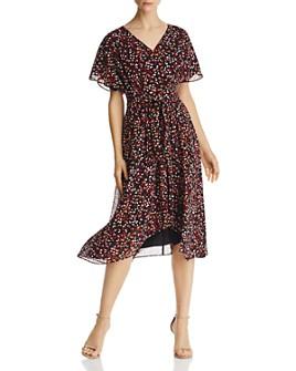 Donna Karan - Printed Chiffon Dress