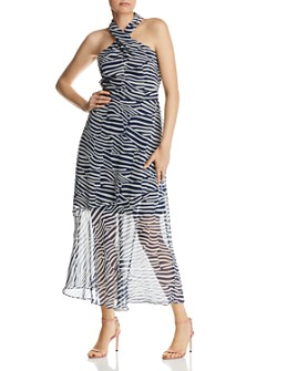 Sam Edelman - Printed Illusion Dress