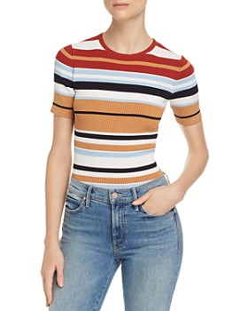 Ronny Kobo - Valena Striped Top