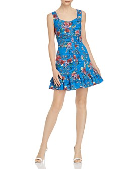 Parker - Mahari Floral-Printed Mini Dress