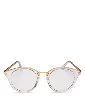 Quay - Unisex Gotta Run Round Blue Light Glasses, 51mm