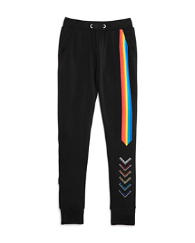 Butter - Girls' Rainbow Jogger Pants - Big Kid