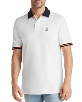 Psycho Bunny - Derwent Contrast-Trimmed Regular Fit Polo Shirt