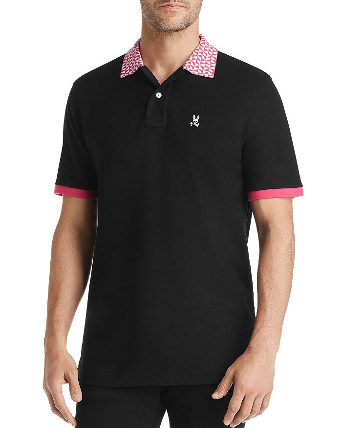 Psycho Bunny - Lumley Contrast-Trimmed Classic Fit Polo Shirt