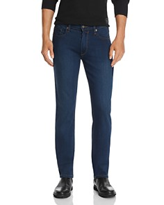 PAIGE - Federal Straight Slim Jeans in Pace