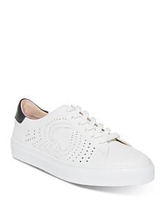 kate spade new york - Women's Aaron Perforated Low Top Sneakers