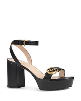 Gucci - Women's Marmont Double G Platform Sandals