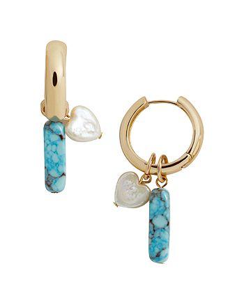 BAUBLEBAR - Daisy Huggie Hoop Earrings