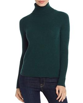 AQUA - Cashmere Turtleneck Sweater - 100% Exclusive