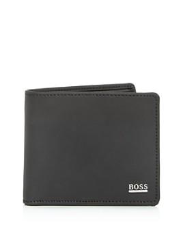 BOSS Hugo Boss - Signature Sport Leather Bifold Wallet