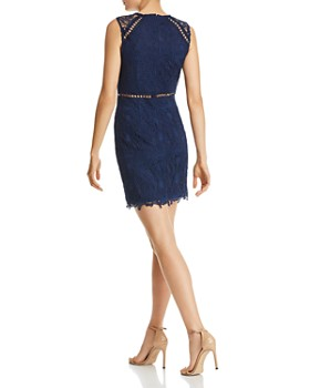 AQUA - Lace Sheath Dress - 100% Exclusive
