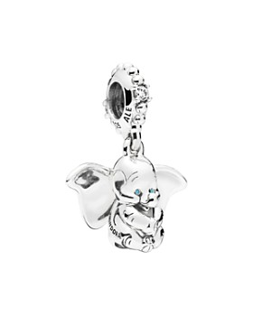 6fa632d32 Pandora - Sterling Silver & Cubic Zirconia Disney Dumbo Charm
