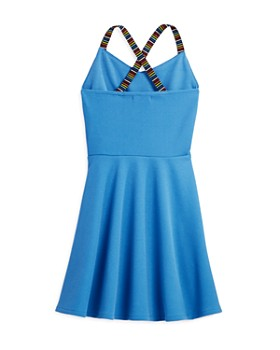 AQUA - Girls' Cross-Back Dress, Big Kid - 100% Exclusive
