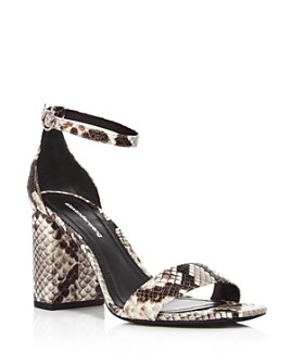 Alexander Wang - Women's Abby Utilitarian High Block-Heel Sandals