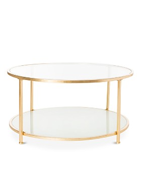 SAFAVIEH - Ivy Two-Tier Round Coffee Table