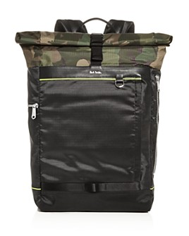 Paul Smith - Naked Lady Camo Rolltop Backpack