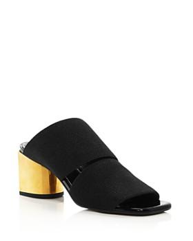 7f0dd20c2f Proenza Schouler - Women's Metallic Block Heel Mules ...