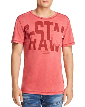 G-STAR RAW - Logo Graphic 15 Pocket Tee