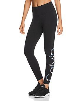 Calvin Klein - Camo-Logo Jersey Leggings