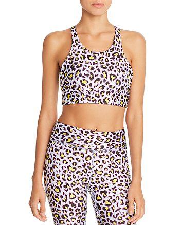 Terez - Reversible Cheetah Print Sports Bra