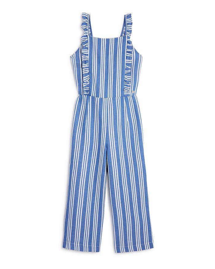 e26715fe5b bebe Girls' Striped Jumpsuit - Big Kid | Bloomingdale's