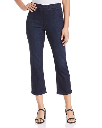 Eileen Fisher Petites - Cropped Jeans in Blue