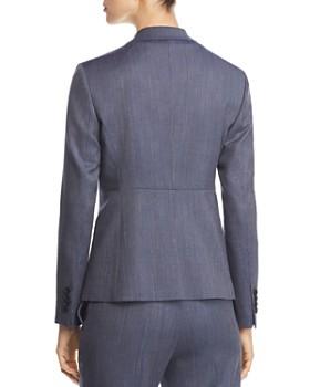 BOSS - Jaliana Single-Button Wool Blazer