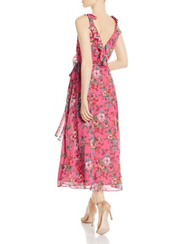nanette Nanette Lepore - Floral Wrap Dress