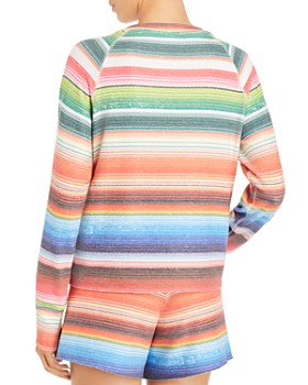LNA - Baja Brushed Striped Sweatshirt