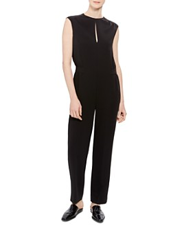 Theory - Shirred Straight-Leg Jumpsuit