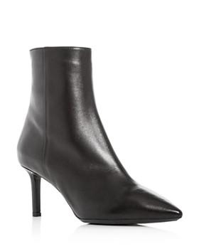 Aquatalia - Women's Mackenzie Weatherproof Pointed-Toe High-Heel Booties