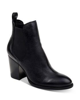 Splendid - Women's Highland Stacked Heel Booties