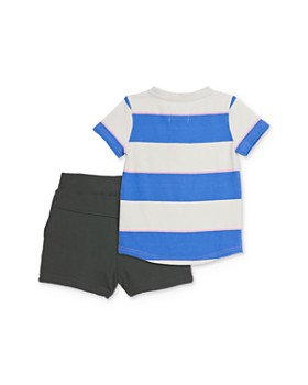 Sovereign Code - Boys' Striped Tee & Jogger Shorts Set - Baby