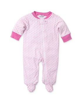 Kissy Kissy - Girls' Heart Print Footie - Baby