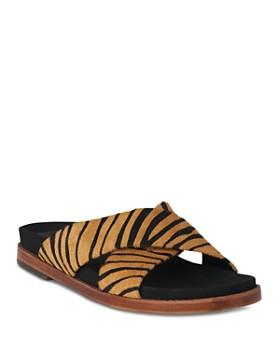 Whistles - Women's Hester Leopard-Print Slide Sandals