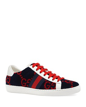 013aa6c7bb5 Gucci - Women s Ace GG Terry Cloth Sneakers ...