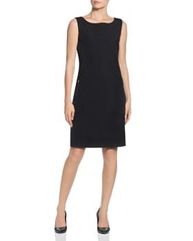 T Tahari - Zip-Pocket Sheath Dress